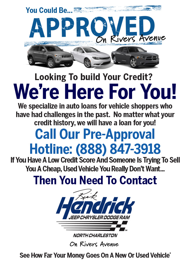 Auto Financing Rick Hendrick Jcdr North Charleston Sc