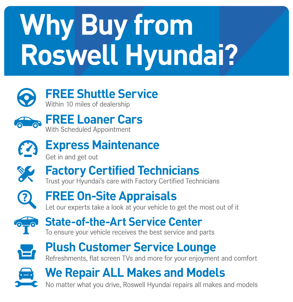 Why Buy from Roswell Hyundai?