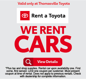 Rent a Toyota - Rates as low as $24.95 - Click to View Details