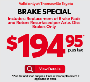 Brake Special - $194.95 - Click to View Details