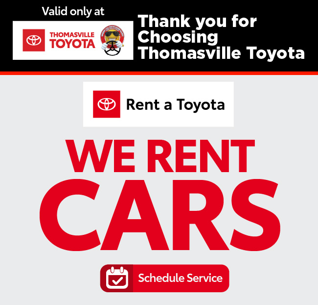 Rent a Toyota - Rates as low as $24.95 - Click to Schedule Service