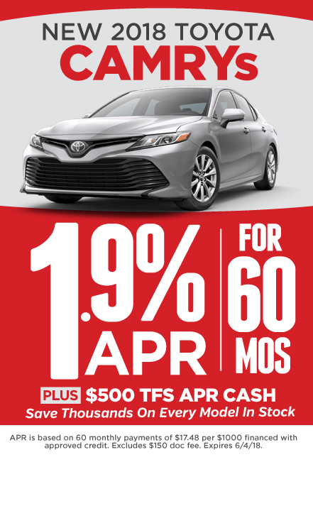 Camry Special Offers