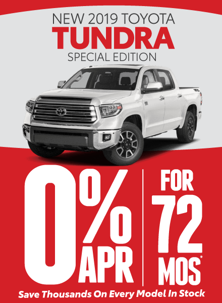 Tundra Special Offers