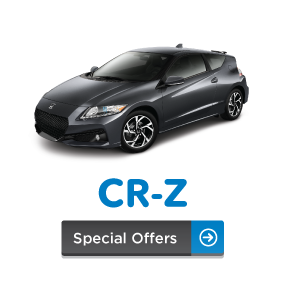 CR-Z Special Offers