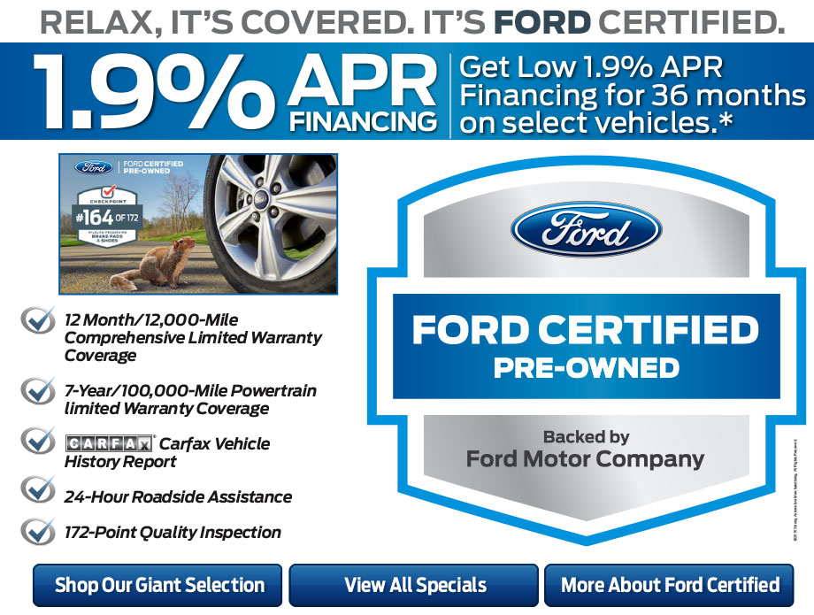 apr financing available on all other ford certified pre owned models. Cars Review. Best American Auto & Cars Review