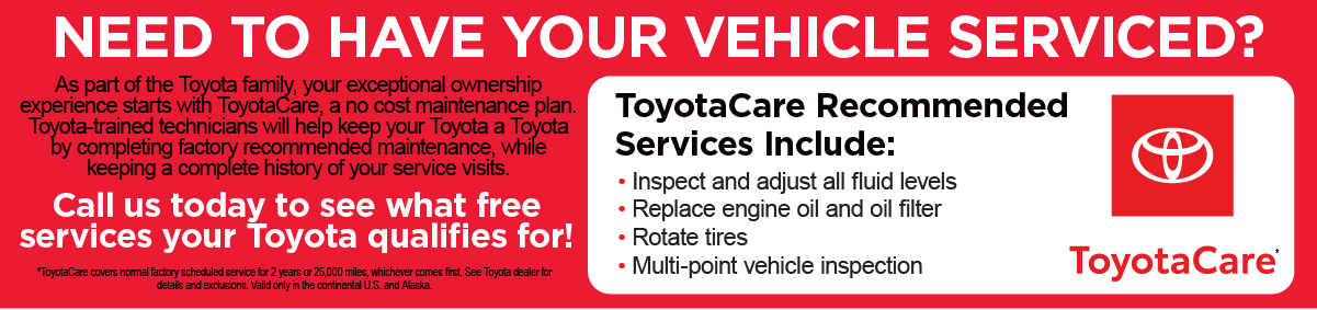 Warrenton Toyota's Common-sense service solutions for uncommon times