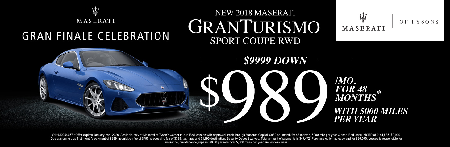 Maserati granturismo for sale in Vienna Virginia