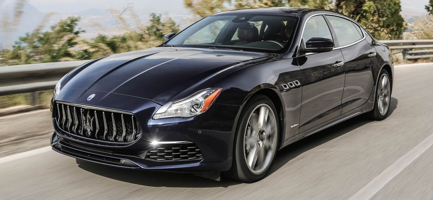 First Look - Maserati Quattroporte