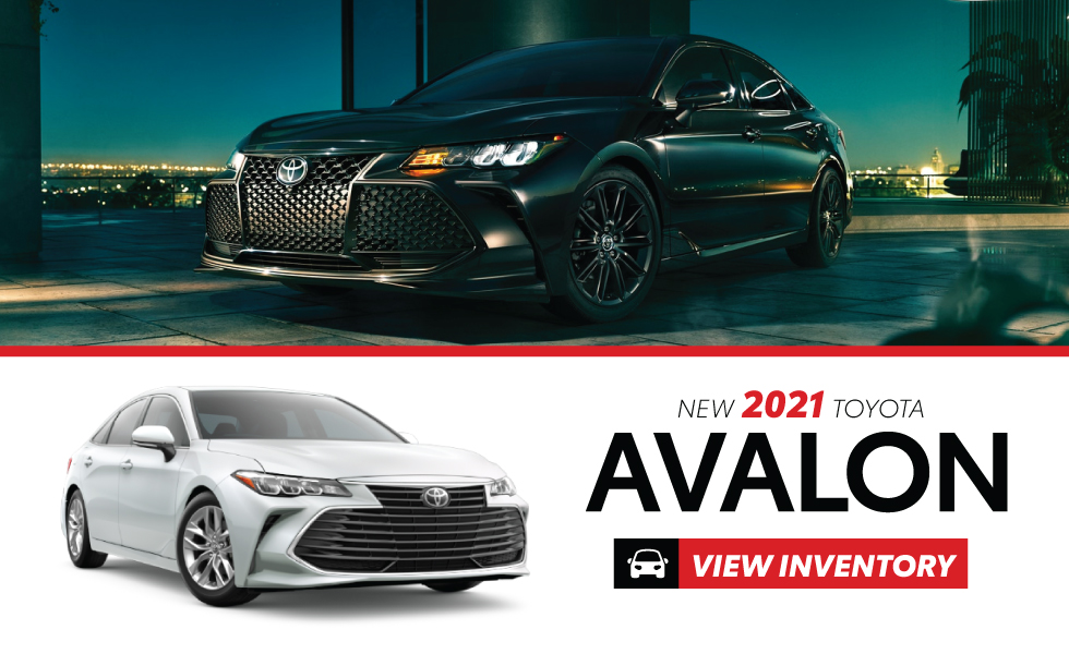 Toyota Avalon Specials at Miller Toyota