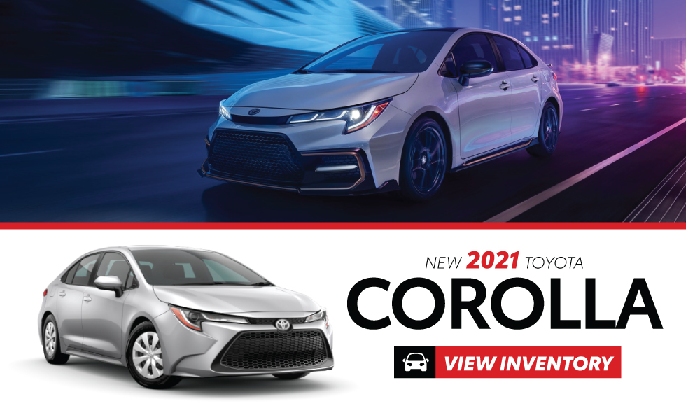 New 2021 Toyota Corolla - Act Now - Get $1,500 customer cash on hybrids or get 0% for up to 60 months on all 2021 Corollas