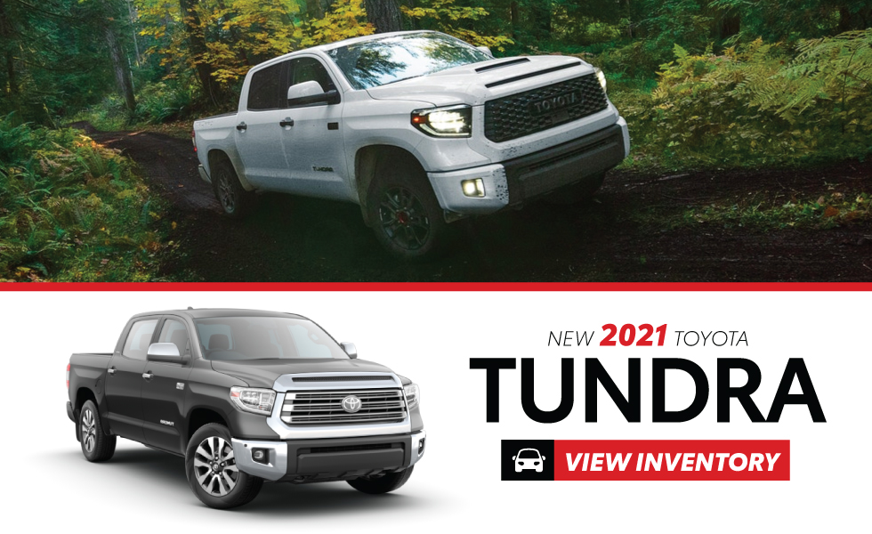 Toyota Tundra Specials at Miller Toyota