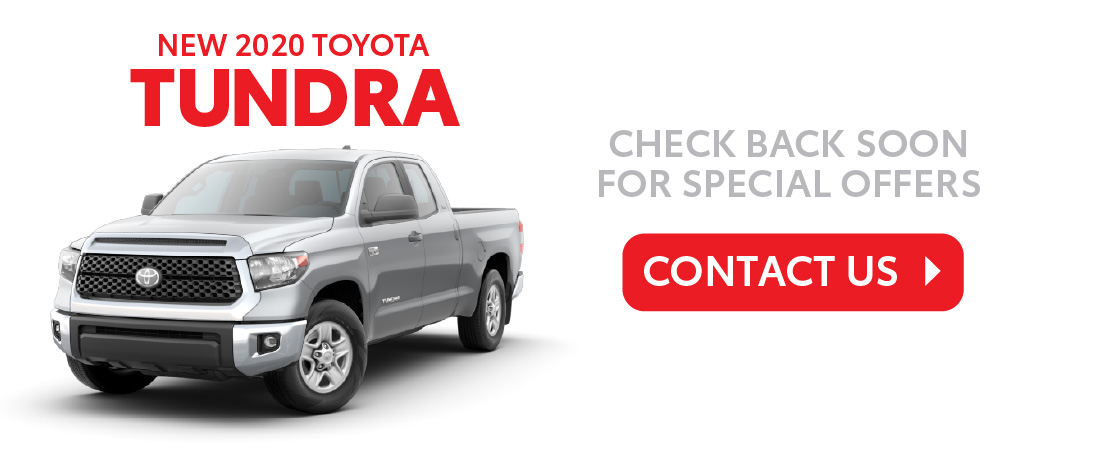 Click to Shop New Toyota Tundra